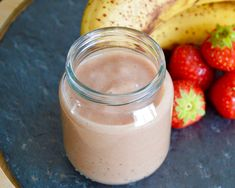 Recette de compote fraise banane pour bébé (Dès 7 mois)