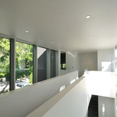 Barrisol spanplafond. #stretchceiling #white #windows #spacious