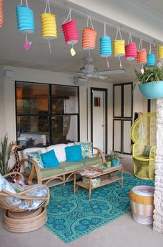 Ideas for patio decorating and summer pool parties from Jennifer Perkins.