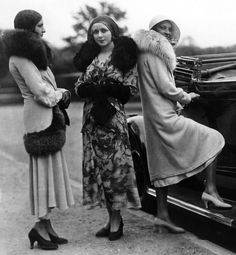 The fashions of the 1920's