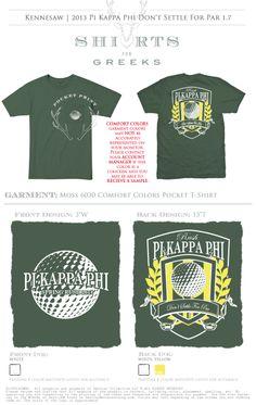 Pi Kappa Phi | Rush | Recruitment | T-shirt Ideas | shirtsforgreeks.com