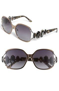 Christian Lacroix Metal Sunglasses | Nordstrom