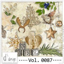 Vol. 0087 - Christmas Mix  by Doudou's Design  cudigitals.com cu commercial scrap scrapbook digital graphics#digitalscrapbooking #photoshop #digiscrap