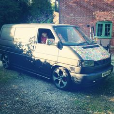 VW T4 - Matt Black and sticker bombed