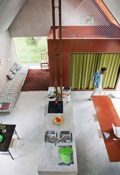 Hamra House by Swedish Architecture Studio DinellJohansson | Yellowtrace