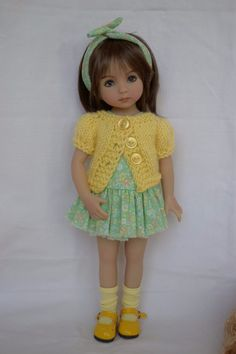 """Outfit for Little Darling Dolls 13"""" Dianna Effner - Fall outfits #Yuree"""
