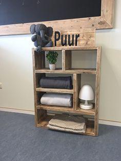 Steiger houten meubilair : Kast steigerhout, afmeting naar keuze | Tangara groothandel - Totaalleverancier voor kinderopvang