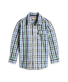 Esprit Blue Checked Shirt