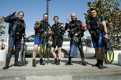 Discover Scuba diving, Try dive in Tenerife