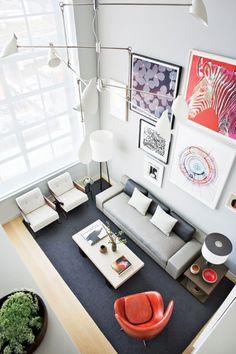 Tamaño alfombra 1 ambiente salon