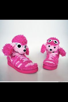 46cb772c4360 Adidas Originals by Jeremy Scott ObyO JS Poodle (pink pink) Launched in  2013 Pretty in pink