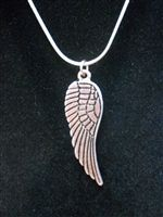 Beautiful silver colored Angel Wing charm.