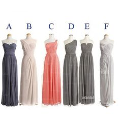 Most brides order all bridesmaid dresses at a time, we recommend this way, firstly, we could use the same roll material to make them, it could avoid dye lot shading, secondly, the shipping cost will be half charged from second dress to last one. For Multiple items customers, it's easy to order,...
