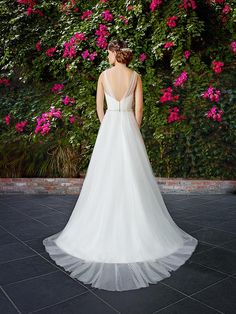 Moonlight Style T774Looking for a simple A-line beach wedding dress