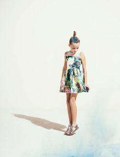 Fashion Kids Editorial.  Julia Mayer. Agency : B-talent. Photo by Federico Leone.