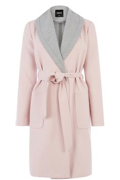 Two Tone Blanket Coat by: Oasis @Oasis (US)