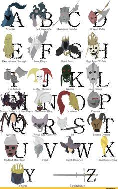 Dark Souls,фэндомы,DS art,DSII персонажи,Dark Souls 2,DSIII персонажи,Dark Souls 3