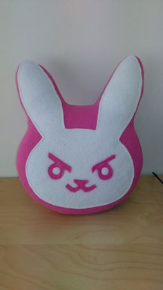 Hey, I found this really awesome Etsy listing at https://www.etsy.com/listing/384678186/dva-bunny-pillow-overwatch
