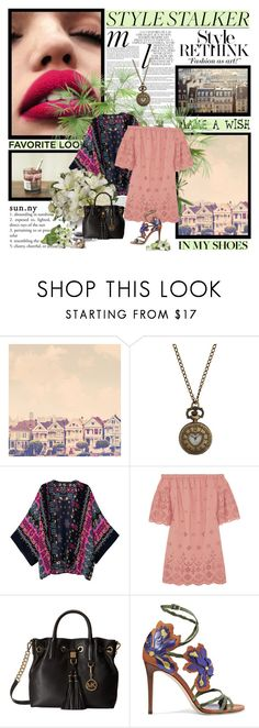 """""""2 IV 2017"""" by dolce89 ❤ liked on Polyvore featuring Whiteley, Chicnova Fashion, Madewell, MICHAEL Michael Kors, Jimmy Choo, Style Stalker and PLANT"""