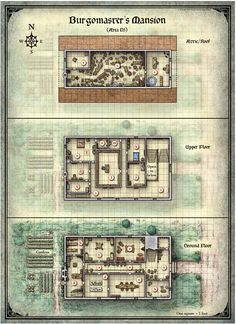 EN World RPG News & Reviews - From Sketch To Print: Comparing Perkins & Schley's Maps For CURSE OF STRAHD