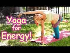 20 Minute Yoga Workout for Energy, Beginners