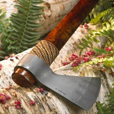 Elite Knives Traditional Wrap Tomahawk with Single Head