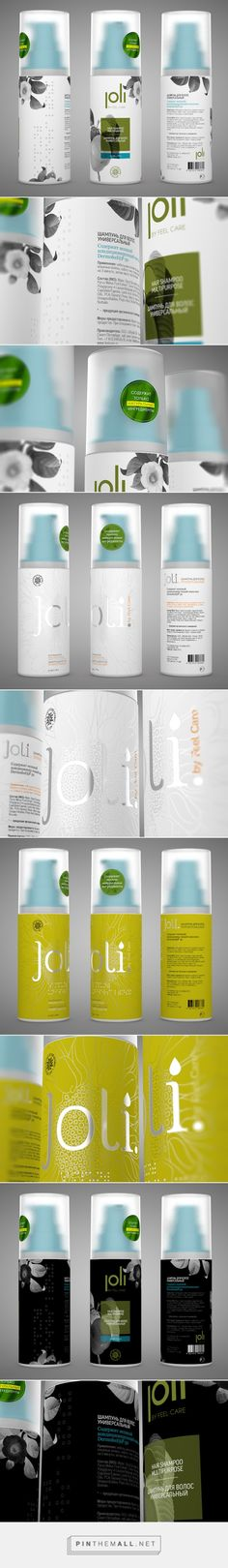 Joli Brand Shampoo Package by Yegor Trukhin | Fivestar Branding – Design and Branding Agency & Inspiration Gallery - created via https://pinthemall.net