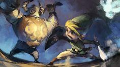 Zelda Phantom Hourglass, by Ben Lo.