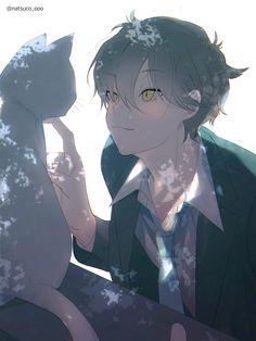 """なつこ on Twitter: """"#冬の創作クラスタフォロー祭り #絵描きさんと繫がりたい 大体男の子描いてます。 リツイートまたは❤から気になった方お迎えします。… """" Anime Sexy, Dark Anime, Anime In, Cool Anime Guys, Hot Anime Boy, Anime Demon, Anime Art Girl, Manga Anime, Anime Boys"""