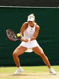 Wimbledon 2017, Angelique Kerber, Tennis Players Female, Lawn Tennis, Tennis Championships, The Championship, Tennis Racket, London England, Plays