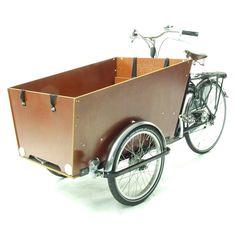 Bakfiets Hollandvelo Transportvelo Cargo Trike von Velo Zürich