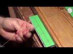Cosido de hojas sueltas - YouTube