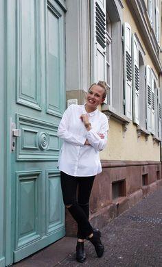 lanius köln, fair fashion, weiße bluse, hemd kombinieren, ekulele, organic cotton, Lieblingsbluse, Lieblingskleidung