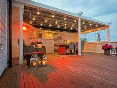 Bilderesultat for uteplass Pergola, Lounge, Outdoor Structures, Outdoors, Inspiration, Design, Art, Porches, Airport Lounge