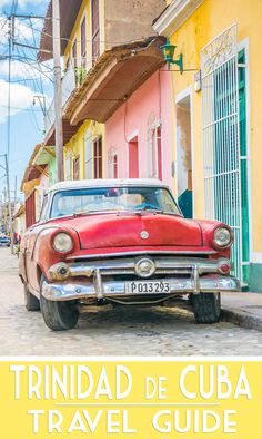 Trinidad Cuba Travel Guide - Pinterest Featured Image