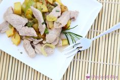 Leek and Potatoes Veal Strips is a second course very easy to prepare, but it is also very tasty! It can be prepared with no effort!