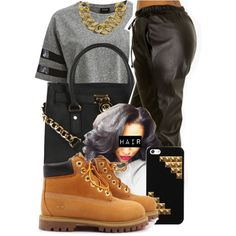A fashion look from August 2014 featuring VILA t-shirts, Michael Kors handbags and ASOS necklaces. Browse and shop related looks.
