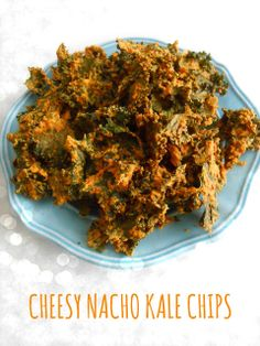 Cheesy Nacho Kale Chips