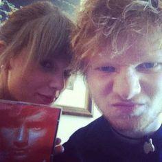 Taylor Swift and Ed Sheeran.