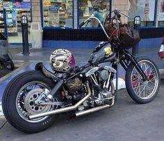 Custom Harleys, Custom Motorcycles, Custom Bikes, Cars And Motorcycles, Harley Bobber, Bobber Chopper, Motorcycle Camping, Bobber Motorcycle, Kawasaki Eliminator