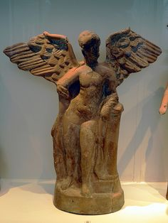 Terracotta firgurine of Eros C.300BC Archaeological Museum, Pella