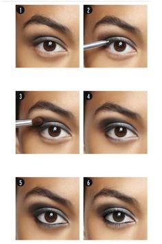 5-minute smoky eye #makeuplesson #beautytips #beauty #lapeerbeauty