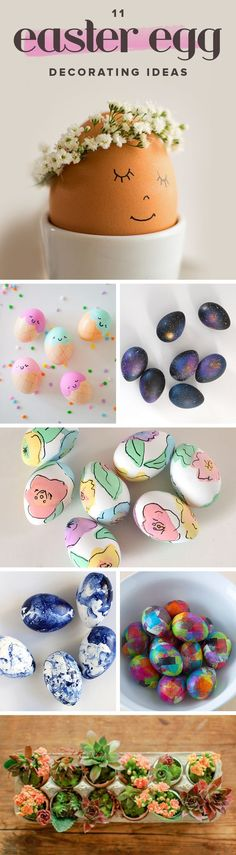 These DIY Easter egg decorating ideas are so original and creative.