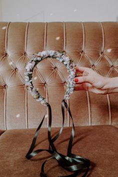 Handmade with love in Vienna. Flower Crown, Headpiece, Sparkle, Seasons, Winter, Handmade, Collection, Jewelry, Schmuck