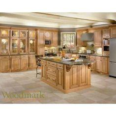 American Woodmark 14-9/16x14-1/2 in. Cabinet Door Sample in Savannah Maple Coffee Glaze-99761 at The Home Depot