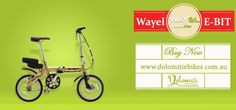 Wayel E Bit Folding Electric Bike buy now @ Dolomiti