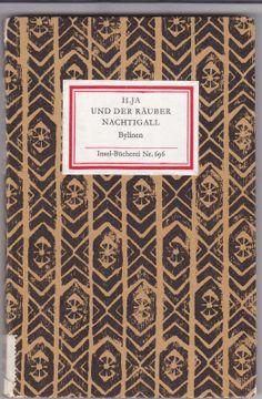 """""""Ilja und der Räuber Nachtigall"""", Autor: Bylinen, Insel-Bücherei Nr. 696, Edition: 1986"""