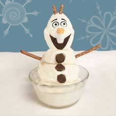 """Looking for the perfectFrozen-inspired summer treat? This cool Olaf dessert """"won't let you down."""""""