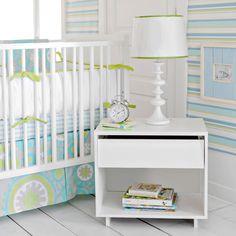 Summer Breeze Crib Skirt by New Arrivals Inc. - RosenberryRooms.com