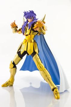 Saint Seiya Myth Cloth EX Camus Aquarius Soul Of Gold Metal Gold Great Toys